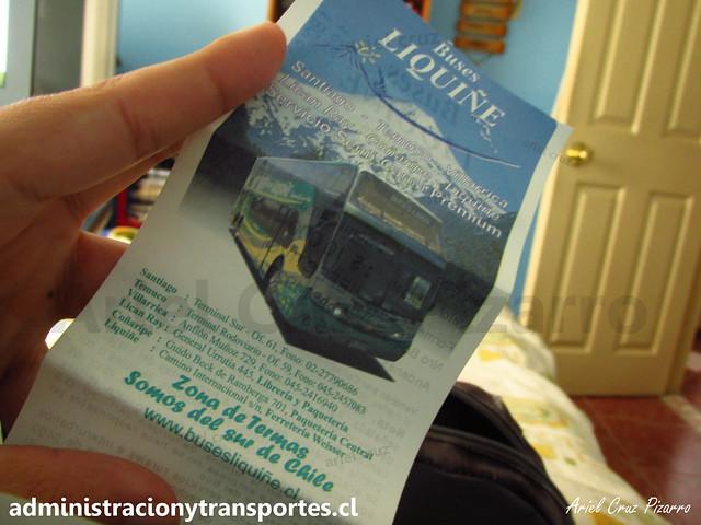Pasaje de Buses Liquiñe
