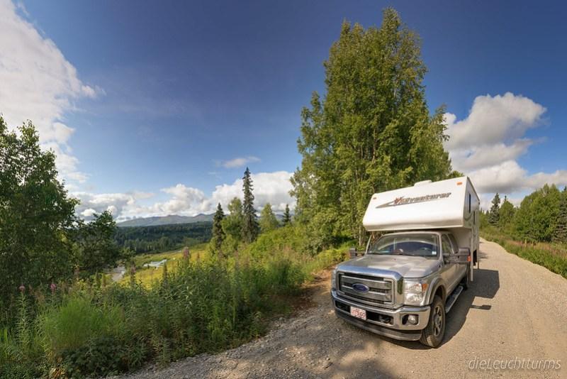 Unterwegs in Busch-Alaska