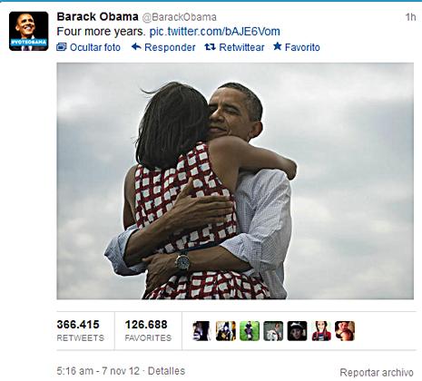 12k07 Obama en Twitter Cuatro años más Uti 465