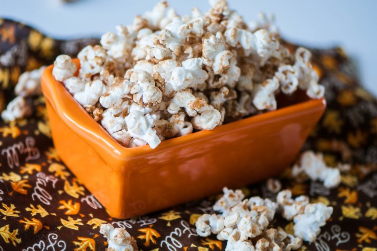 Brown Sugar Pumpkin Spice Popcorn 2