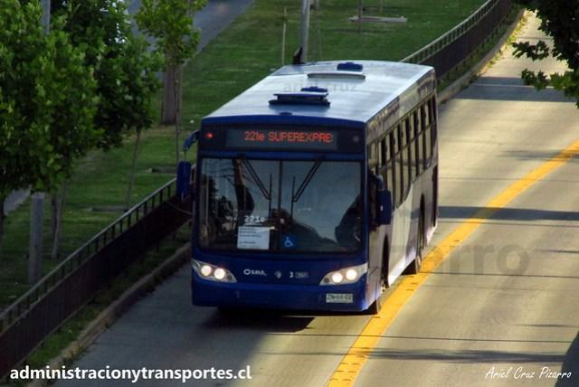 Transantiago 221e | Subus | Caio Mondego L - Volvo / ZN6602 - 7017