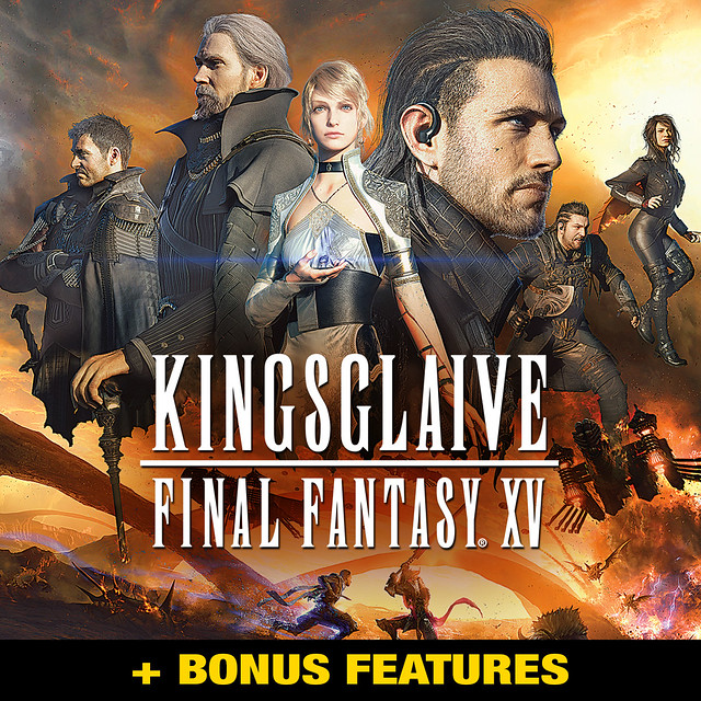 Kingsglaive: Final Fantasy XV (+ Bonus features)
