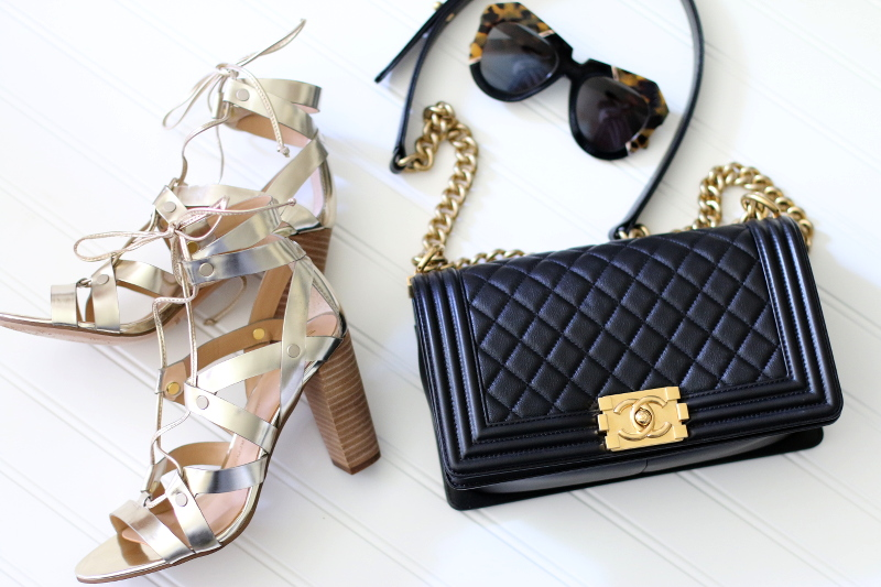 banana-republic-lace-up-sandals-chanel-boy-bag-karen-walker-sunglasses