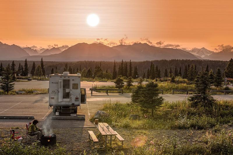 Abenddämmerung am Mount McKinley