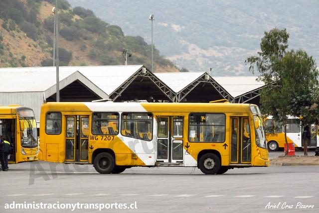 Transantiago F02 | STP Santiago | Neobus Mega Low Entry - Mercedes Benz / WG7207