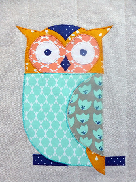 Woodland Friends Quilt (Popular Patchwork Oct16)
