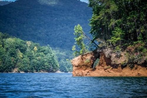 Lake Jocassee with Bennie Waddell-36