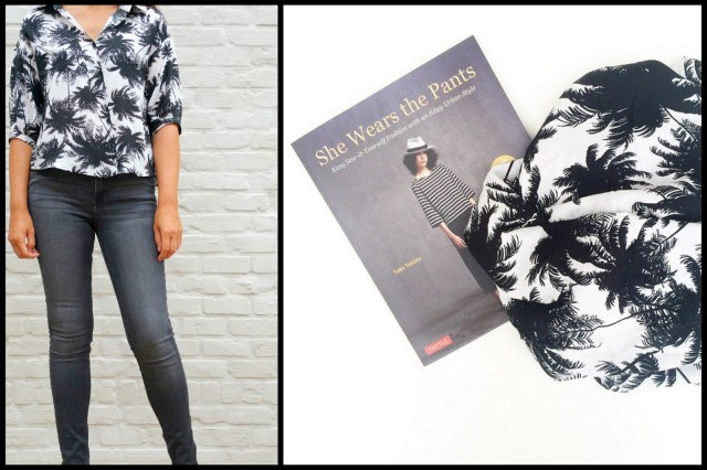 japanese blouse + book