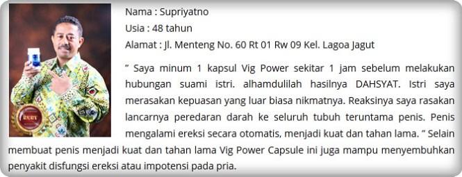 Vig Power Capsule Isi 6 Kapsul