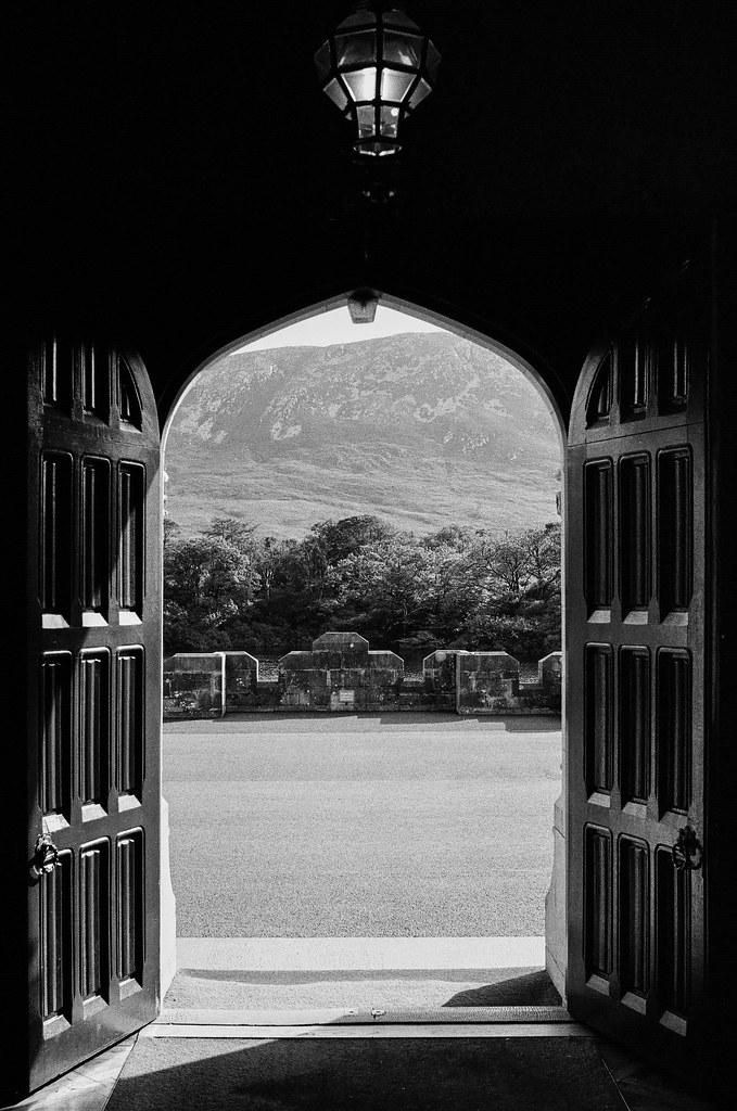 At Kylemore Abbey