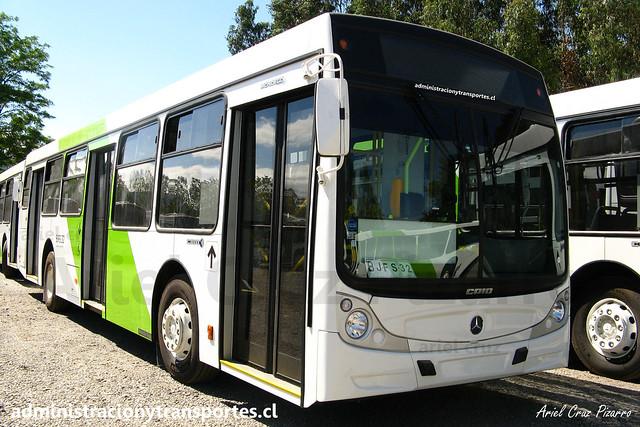 Transantiago - Buses Vule - Caio Mondego H / Mercedes Benz (BJFS32)