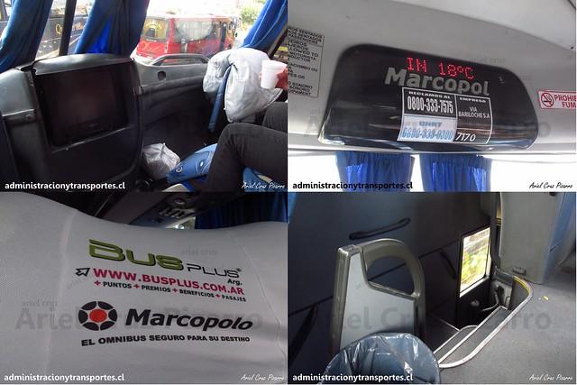 Vía Bariloche | Semi Cama | Marcopolo Paradiso 1800 DD - Mercedes Benz / KFE281 - 7170