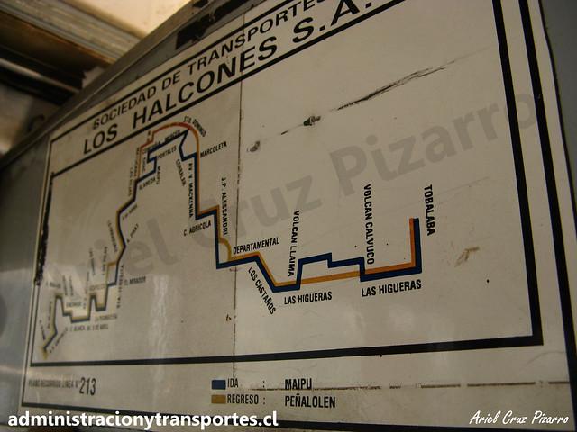 Mapa Micro Amarilla 213