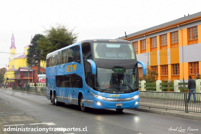 ETM | Castro - Chiloé | Marcopolo Paradiso 1800 DD - Scania / HGWL31