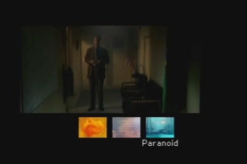 x-files paranoid conversation tree