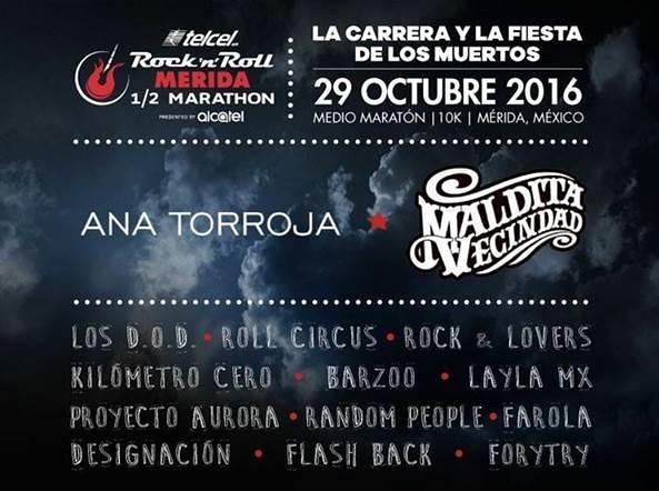 Rock n Roll Marathon Mérida