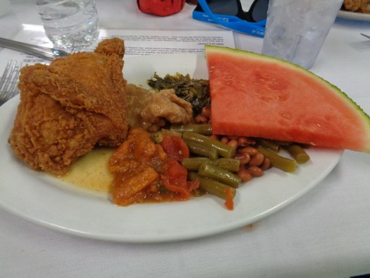 My lunch at Old Country Store, Lorman MS