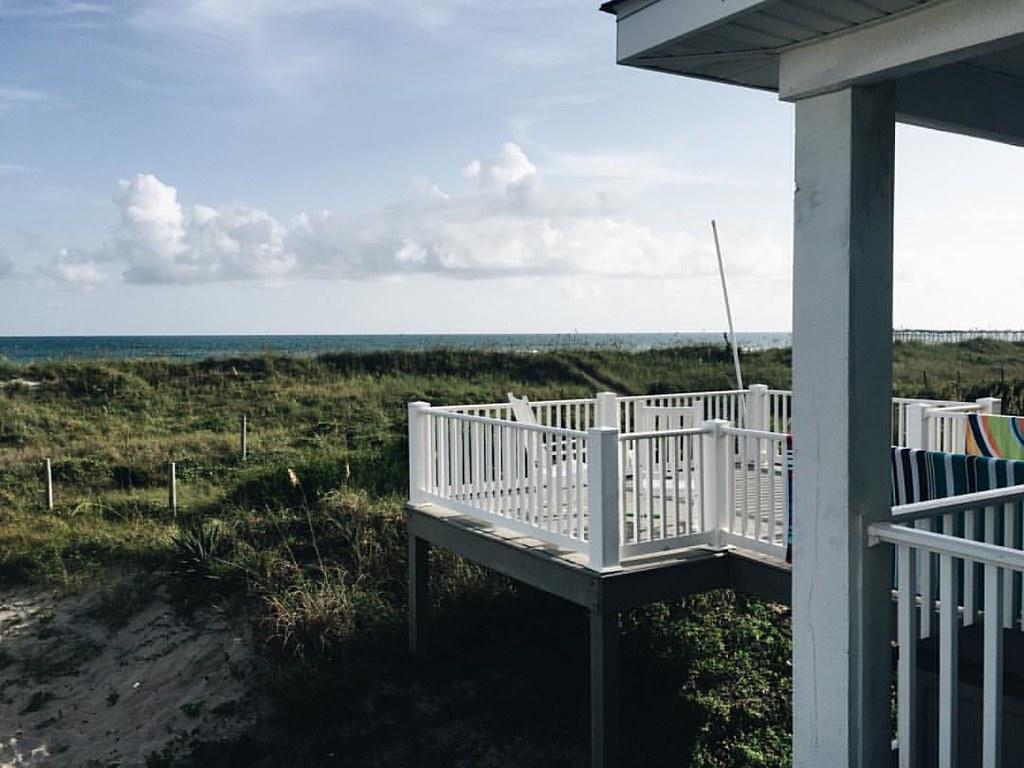 How I've spent my week: On the porch. At the beach. In the surf. ✺❍↠. : : #beach #atlanticbeach #crystalcoast #exploretocreate #kinfolk #vscocam #summertime #northcarolina #travel #vacation #vscofolk #liveauthentic
