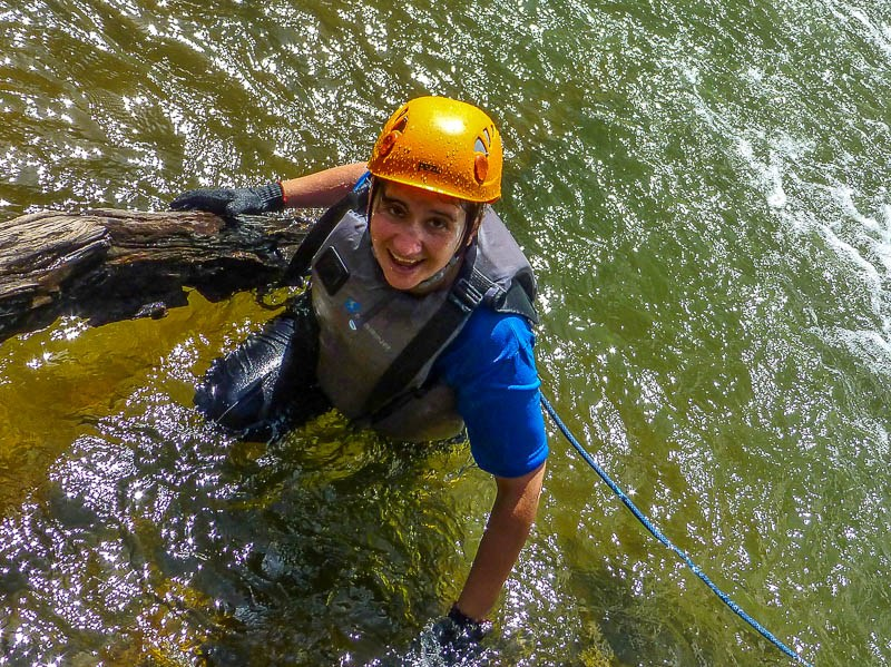 Still alive! Waterfall abseil - Canyoning in Dalat