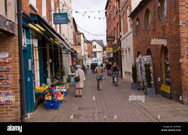 Church Street Hereford Herefordshire England EU UK a ...