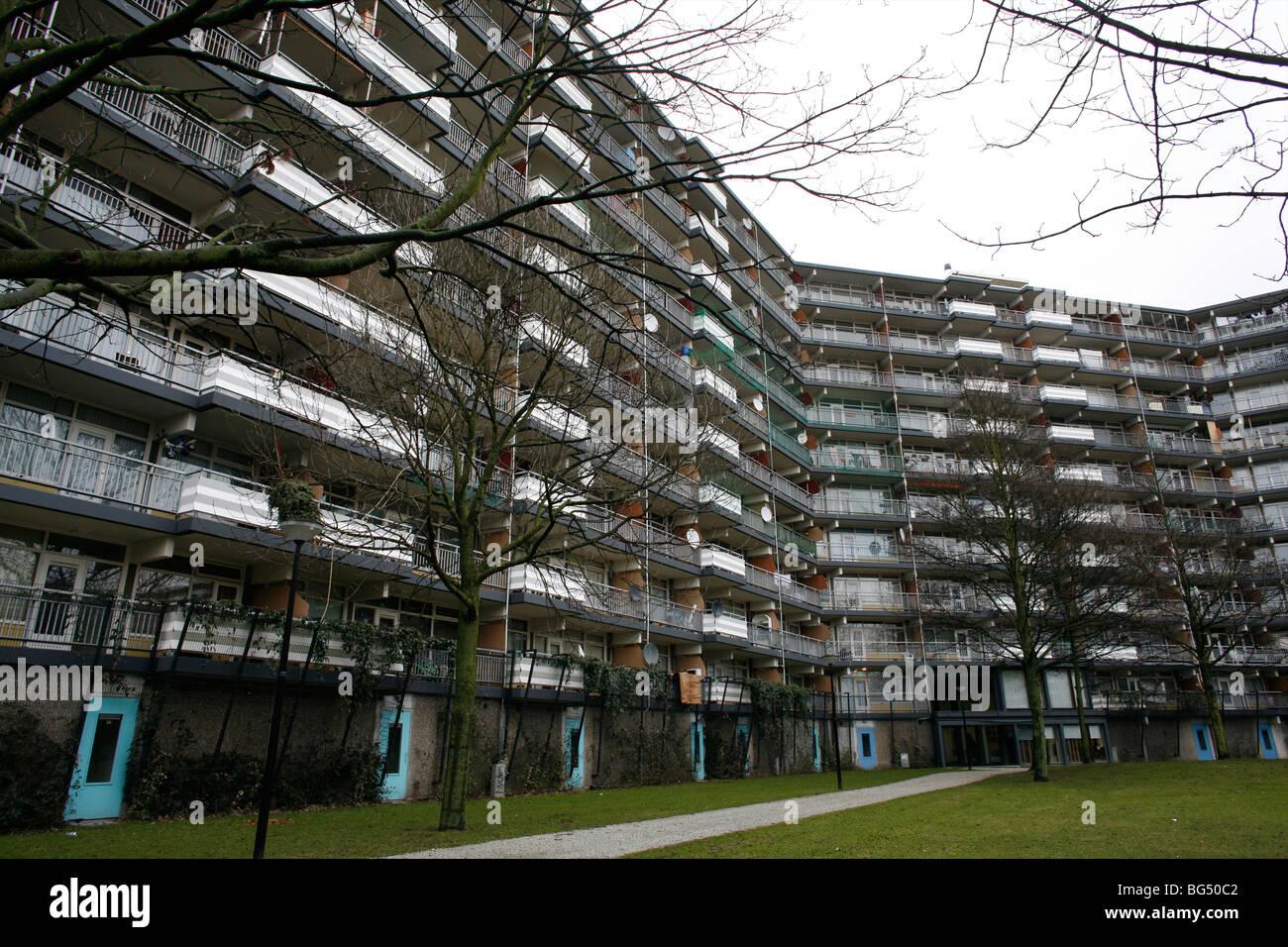 De Bijlmer Is A Bad Area In Amsterdam Stock Photo Royalty