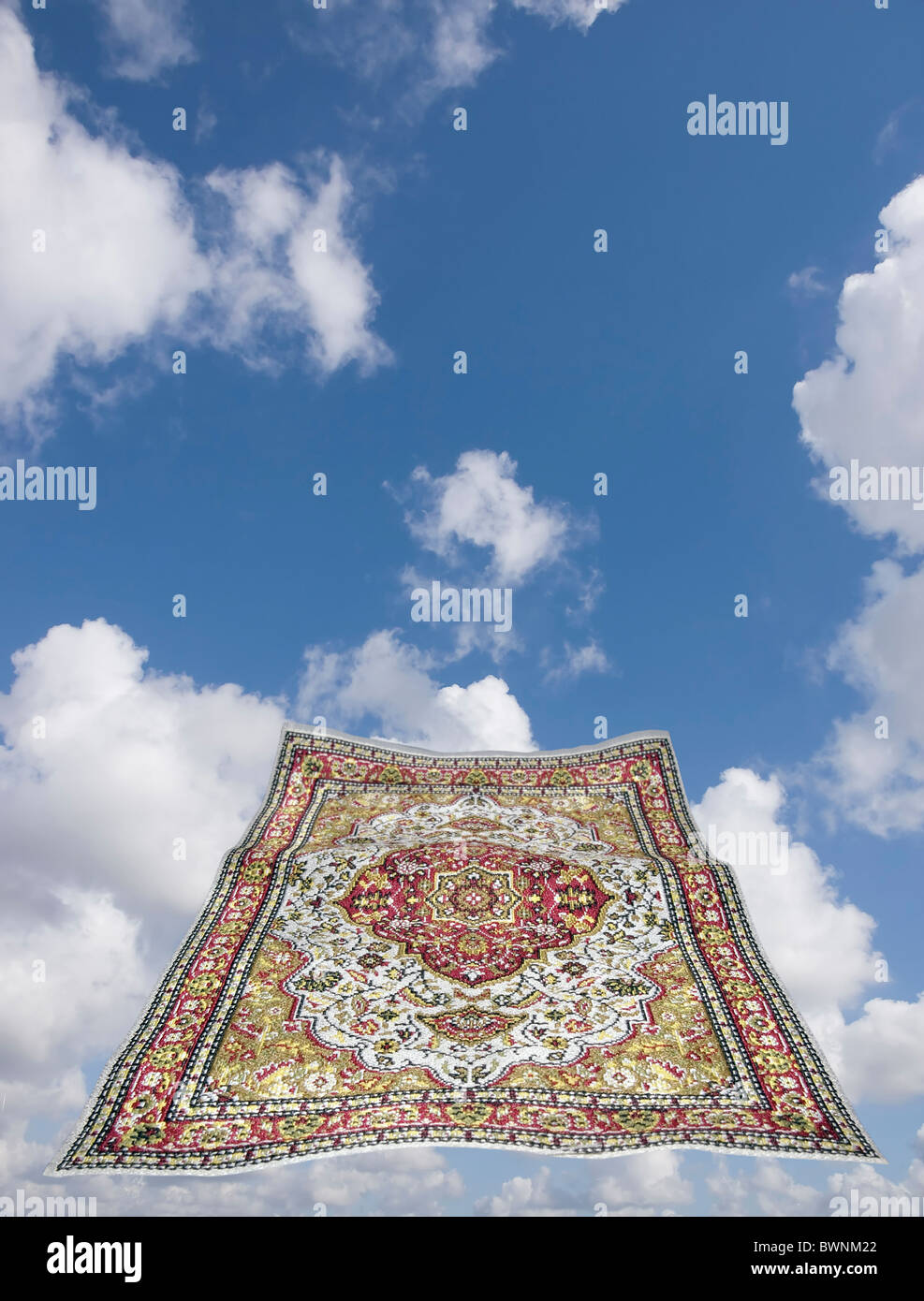 magic carpet in a blue sky Stock Photo  33053498   Alamy magic carpet in a blue sky