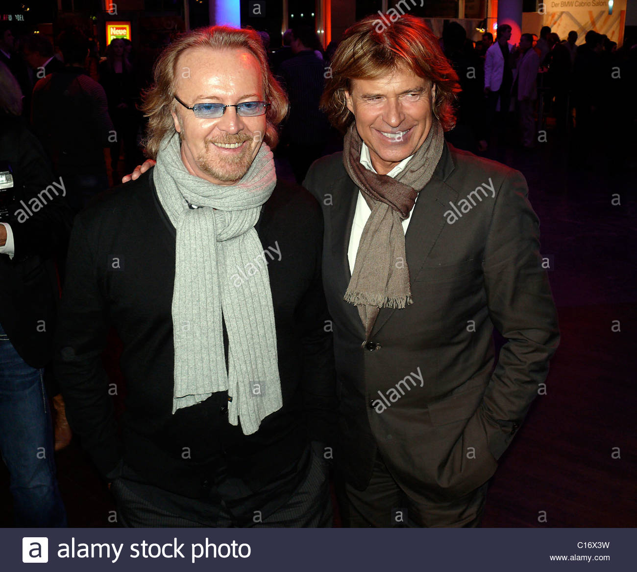 "Umberto Tozzi, Hansi Hinterseer Aftershow-Party ""Carmen Nebel"" at BMW Kurfuerstendamm Berlin, Germany - 14.03.09 Stock Photo"