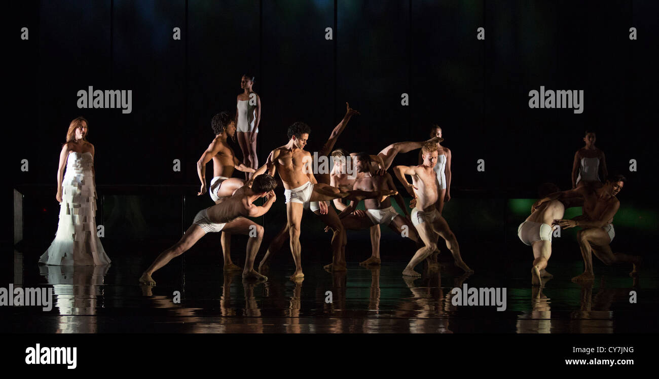 Rambert Dance Company Perform The New Pice Labyrinth Of