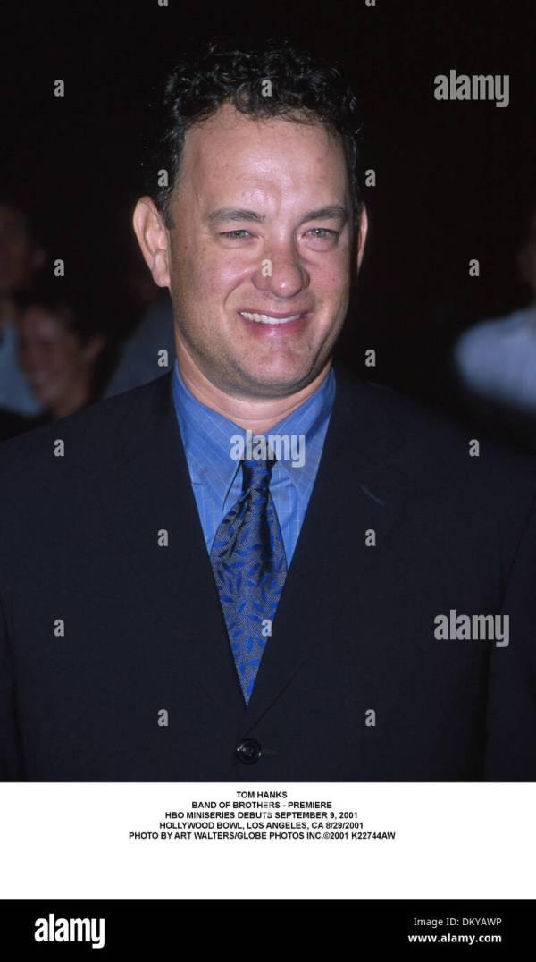 Aug. 30, 2001 - Los Angeles, CALIFORNIA, USA - TOM HANKS ...