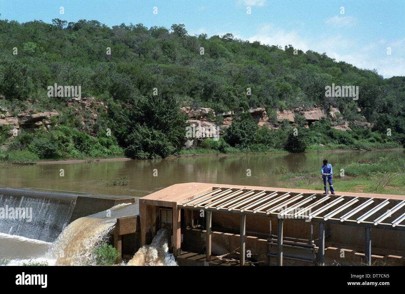 Wier Collect Water For A Rural Water Supply Project In Ulundi Stock Photo Royalty Free Image