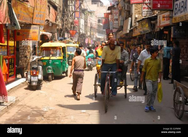 India Delhi Old Delhi Paharganj District Main Bazar Road ...