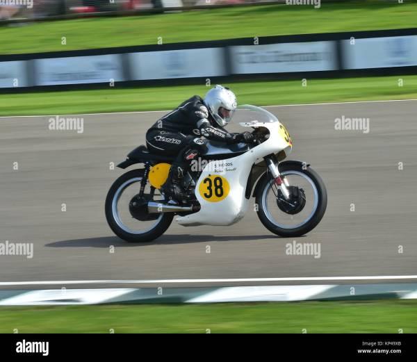 Classic Motorcycles Racing Goodwood Revival Stock Photos ...