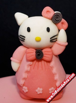 Figura der acucar hello kitty topper