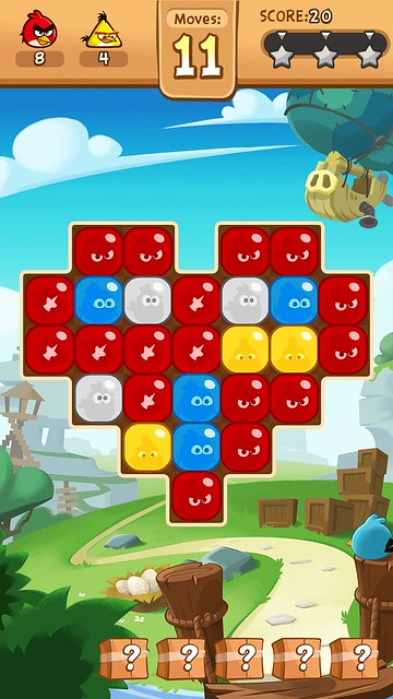angry birds blast review board