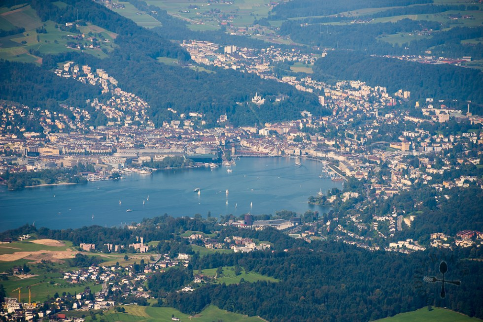 Zoomed in view of Lucerne