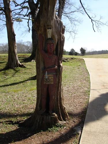 Tim Tingle's Carvings - Tinglewood - at Orr Park in Montevallo AL