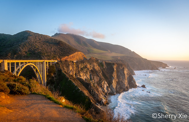 Bixby Creek Bridge California Highway No 1