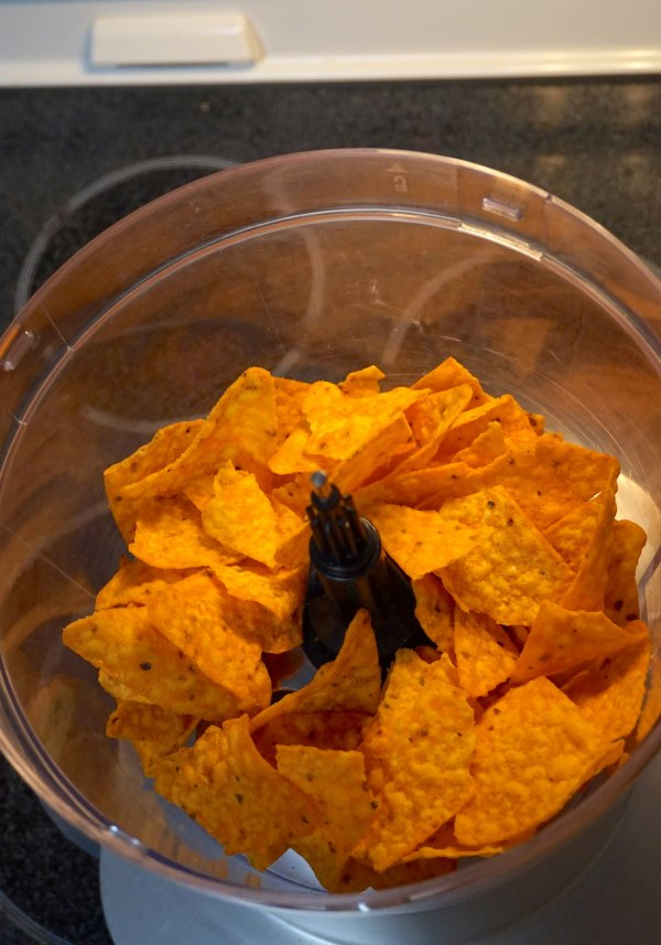Doritos in Food Processor | thelittleredspoon.com