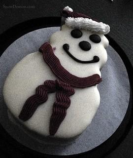 20170101 - Snowman Cake