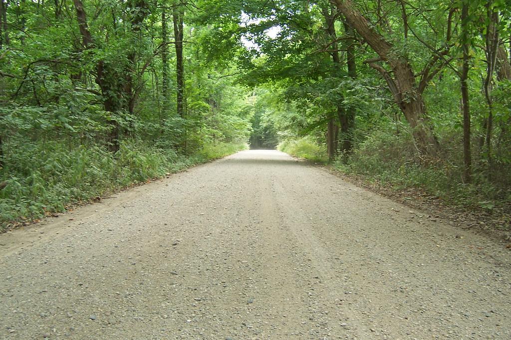 Perfect gravel road