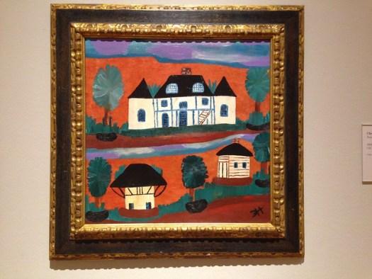 Clementine Hunter, Melrose Plantation, High Museum of Art, Atlanta GA