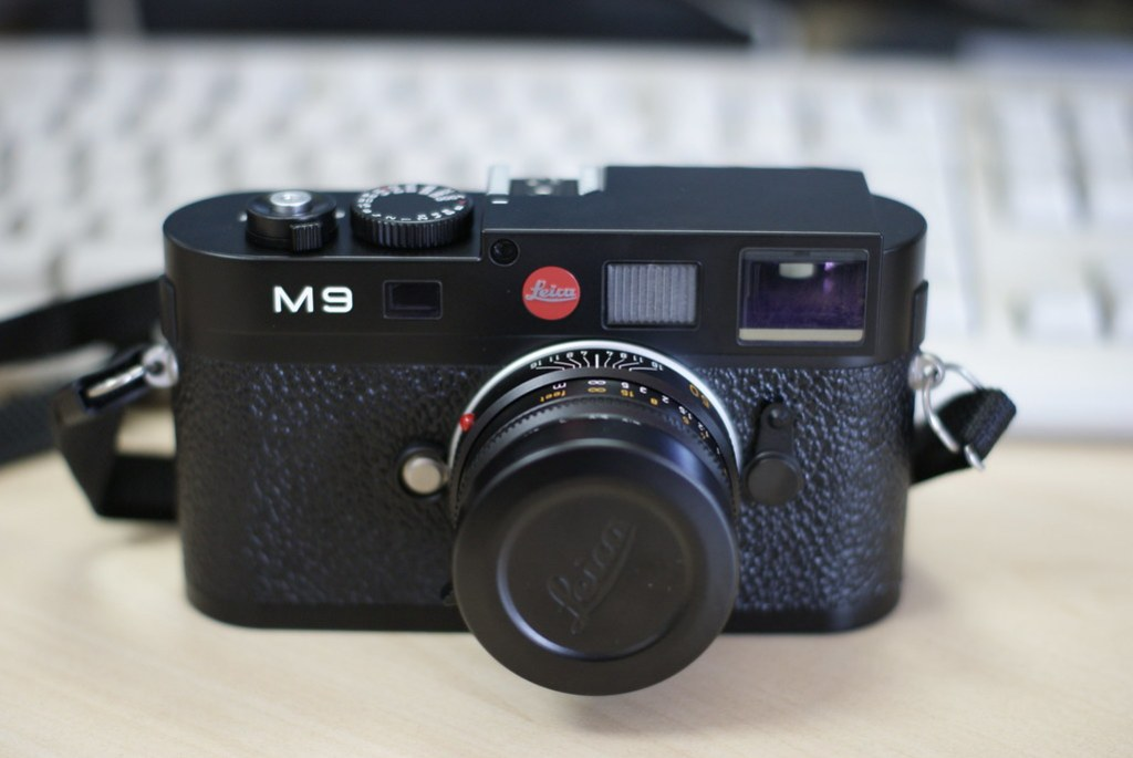 Leica M9: Front