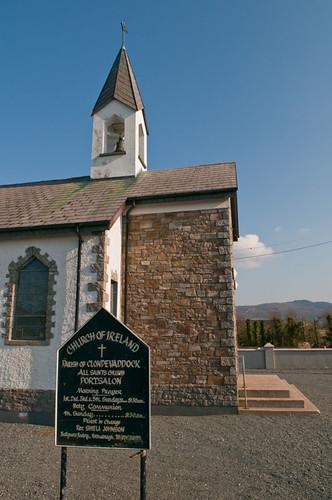 Parish of Clondevaddock, All Saints Church, Portsalon, Co ...
