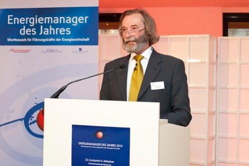 Preisverleihung Energiemanager des Jahres 2010
