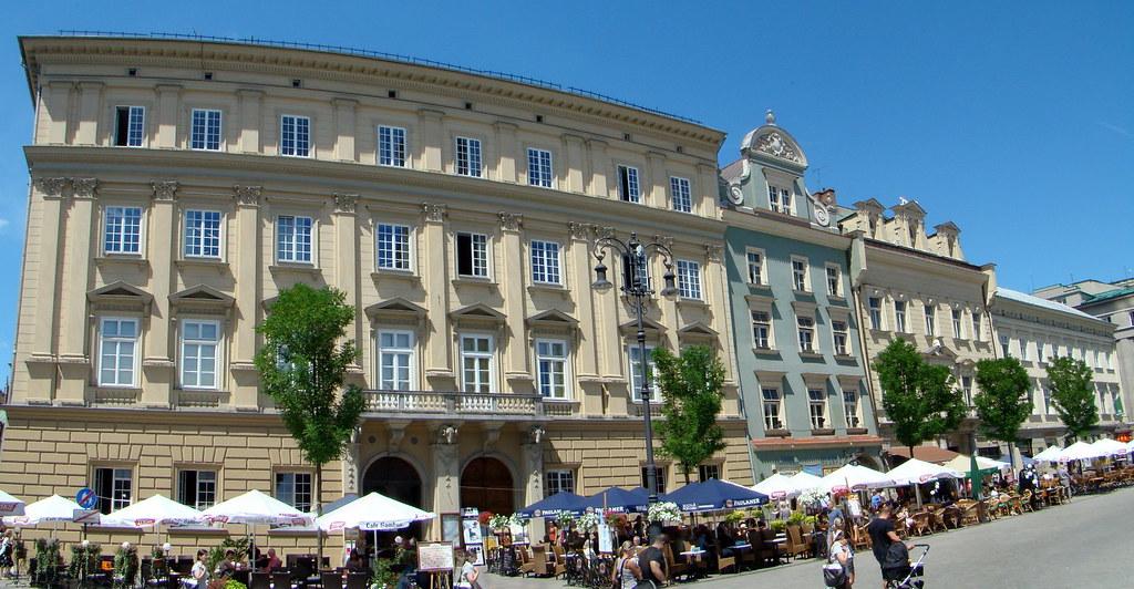 Polonia Plaza del mercado Cracovia 09