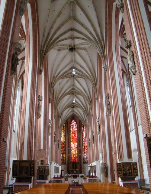 Breslavia Basilica de Santa Isabel de Hungria Polonia 02