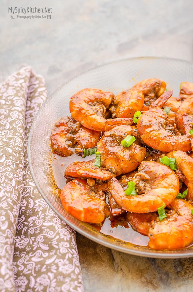 Blogging Marathon, Cooking Carnival, Protein Rich Food, Cooking With Protein Rich Ingredients, Cooking With Shrimp, Shrimp Recipes, Seafood, Prawns, New Orleans Food, New Orleans Cuisine, New Orleans bbq Shrimp, Barbecue Shrimp New Orleans  Style, New Orleans Style bbq Shrimp,