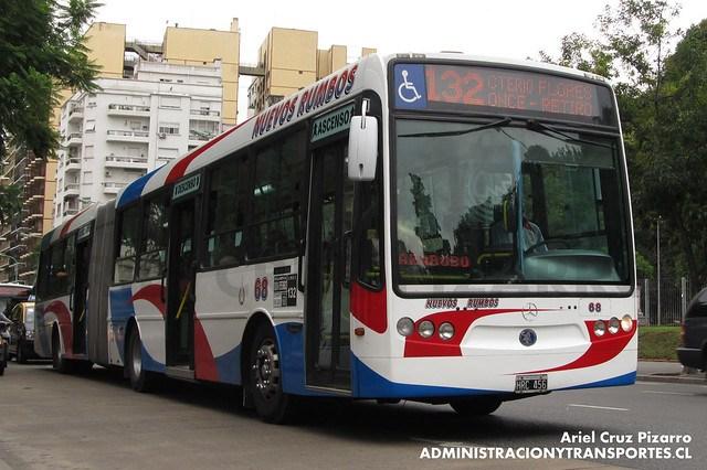 Buenos Aires bus - Nuevos Rumbos - Metalpar Iguazú / Mercedes Benz (HRC456)