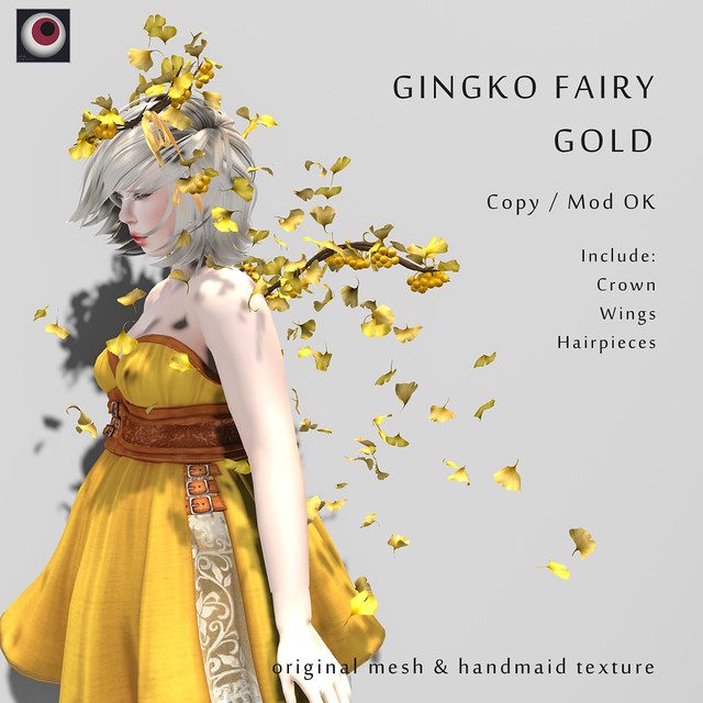 *NAMINOKE*GINGKO FAIRY Gold