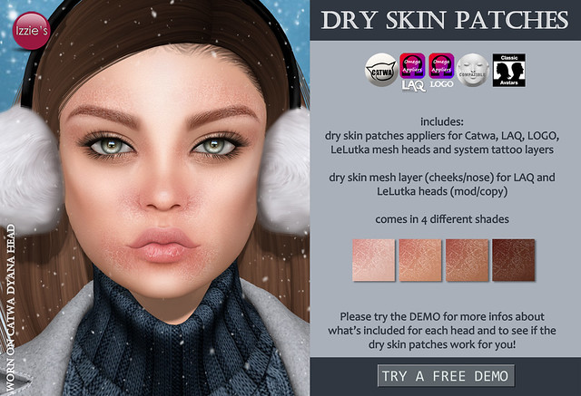 Dry Skin Patches (@ TLC)